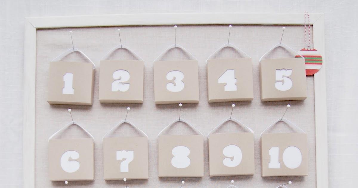 Craft origine calendrier de l 39 avent - Calendrier de l avent ikea ...