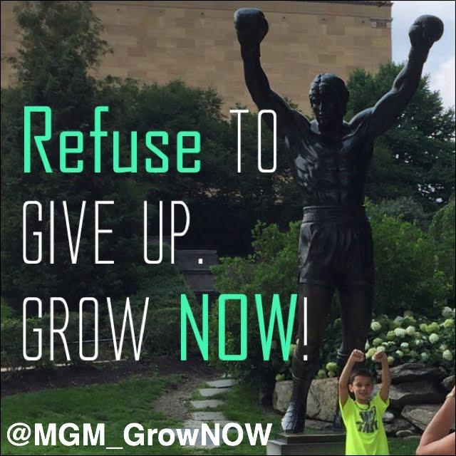 #GrowNOW