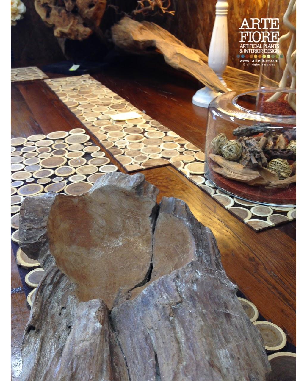 Arte fiore il blog tappetino runner dischi di legno for Dischi di legno