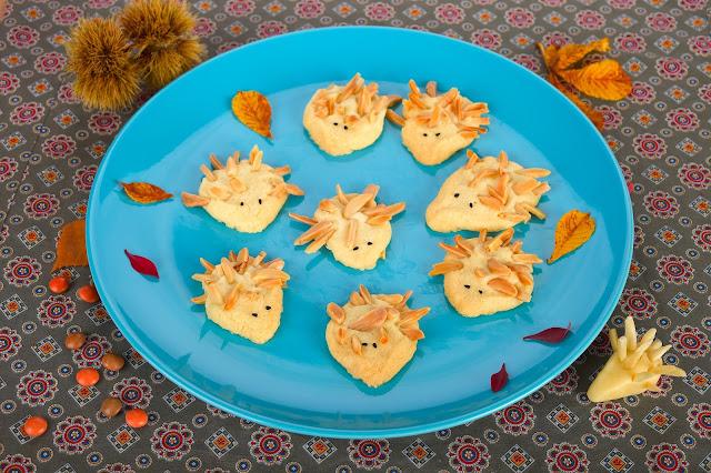 Rezept für Igel-Kekse. Edyta Guhl.