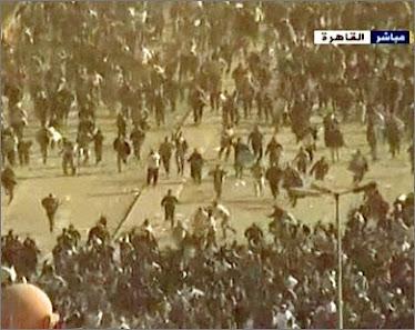 من احداث الثورة المصرية