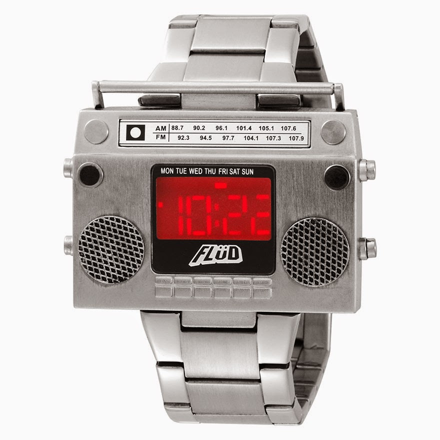 24 Of The Most Creative Watches Ever - Boombox Watch