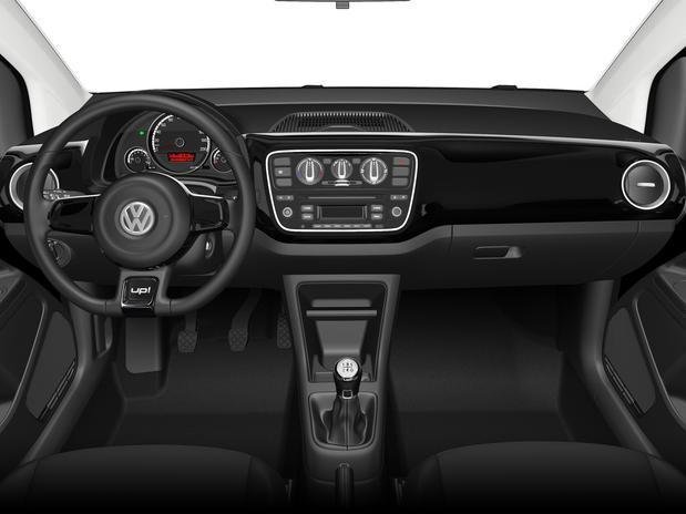 Volkswagen Black-up - painel