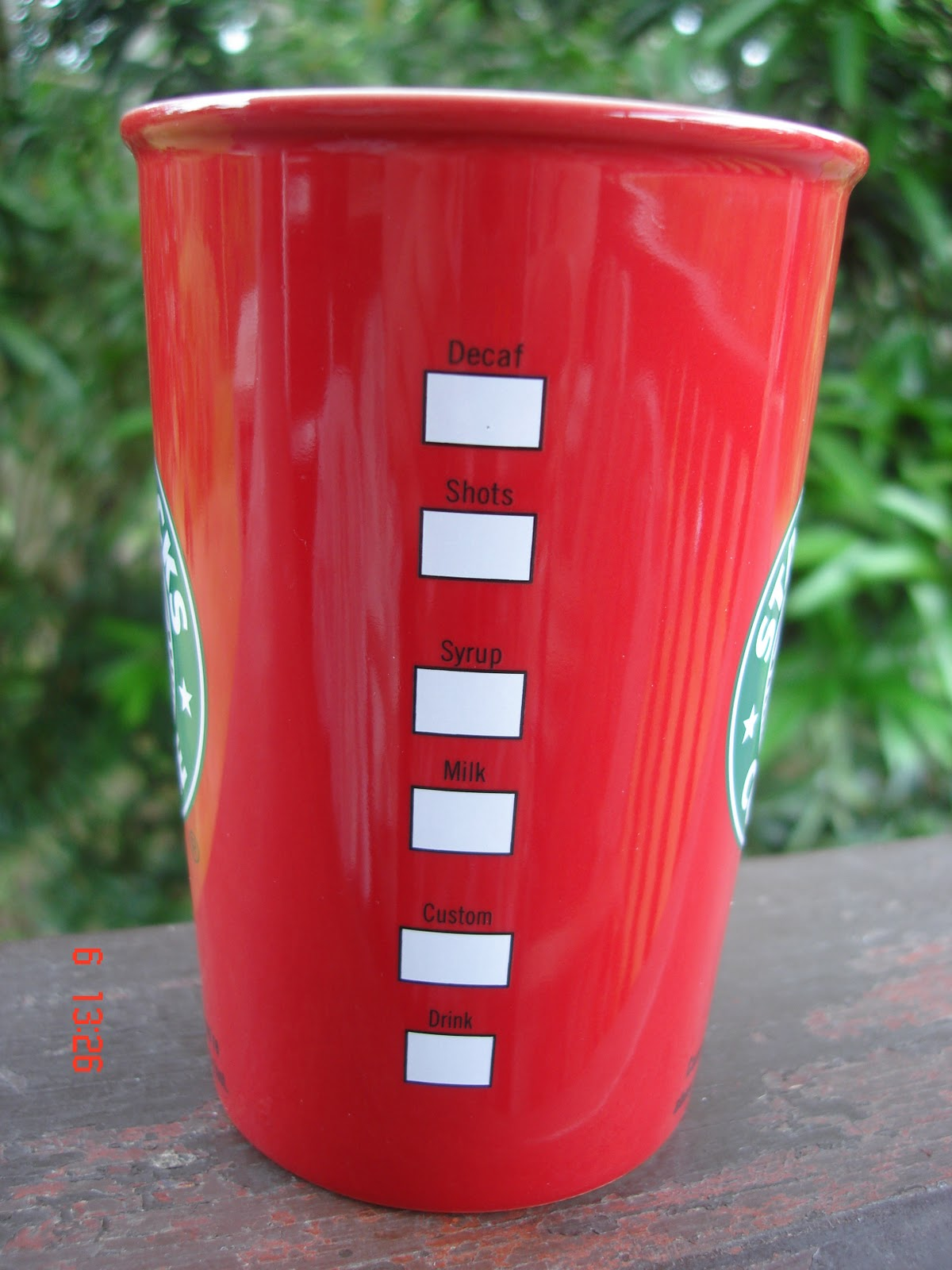 A Cup A Day: 2010 Starbucks Logo Red Mug