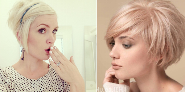 Awesome Short Hairstyles For Blonde Girls