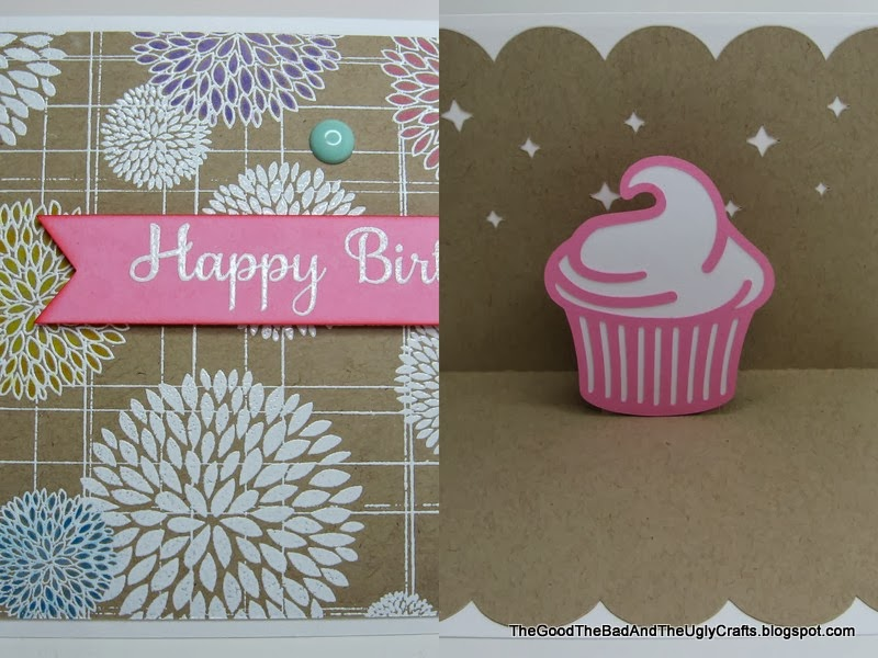 The Good The Bad The Ugly Crafts Simple Floral PopUp Birthday – Ugly Birthday Card