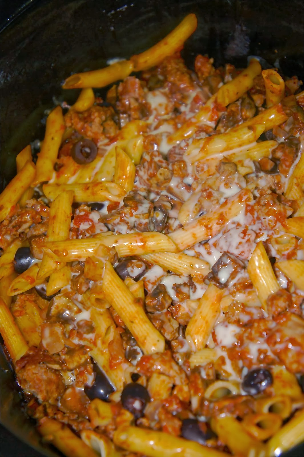 Savory Sweet and Satisfying: Sausage Pasta Casserole