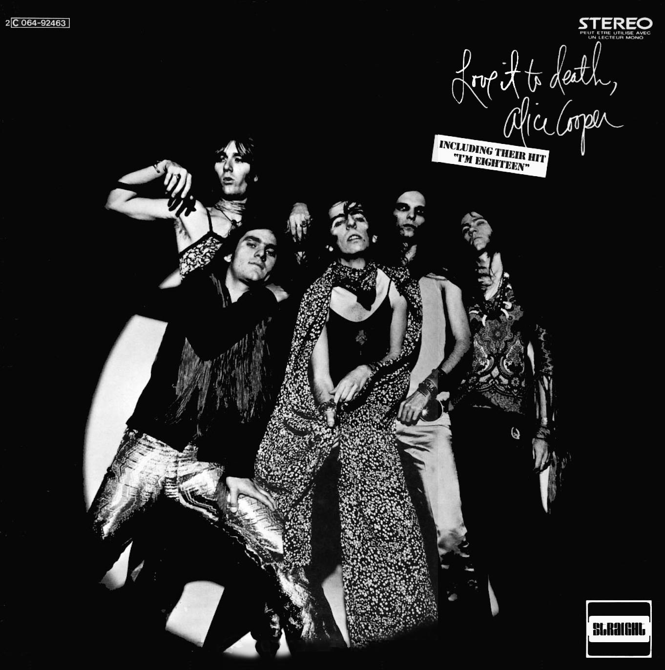 Alice Cooper - Love It to Death - album cover