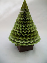 3D Pleated Christmas Tree