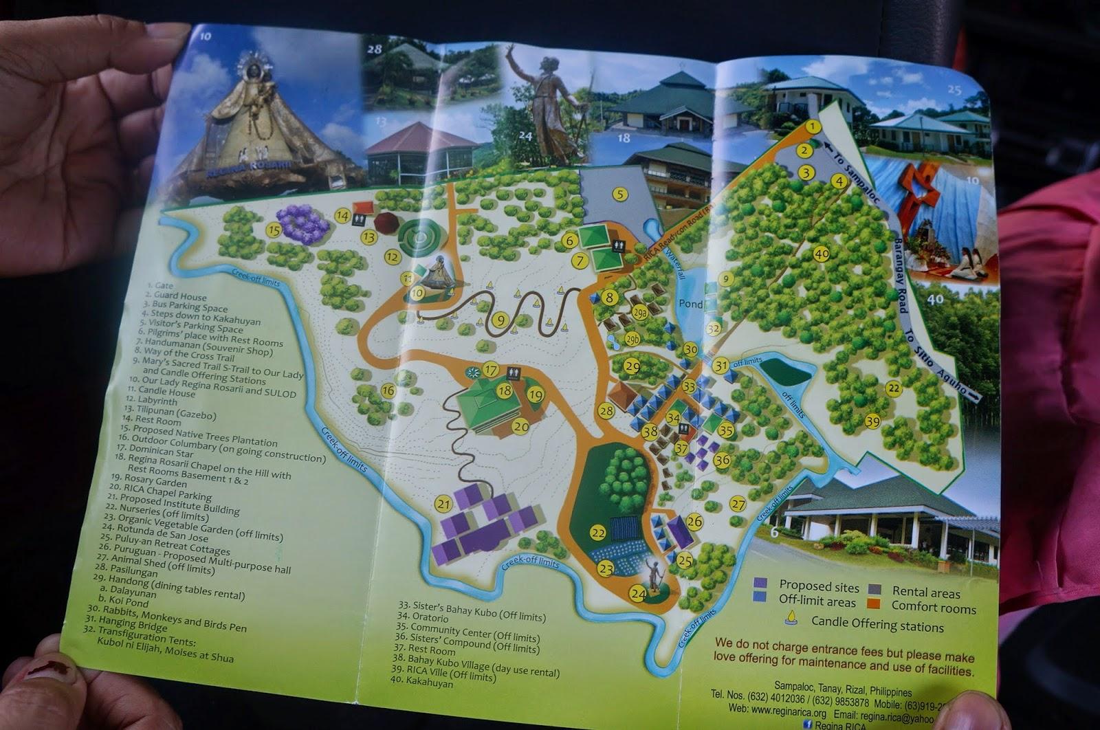 Regina RICA A Place of Prayer Pilgrimage and Peace at Tanay Rizal