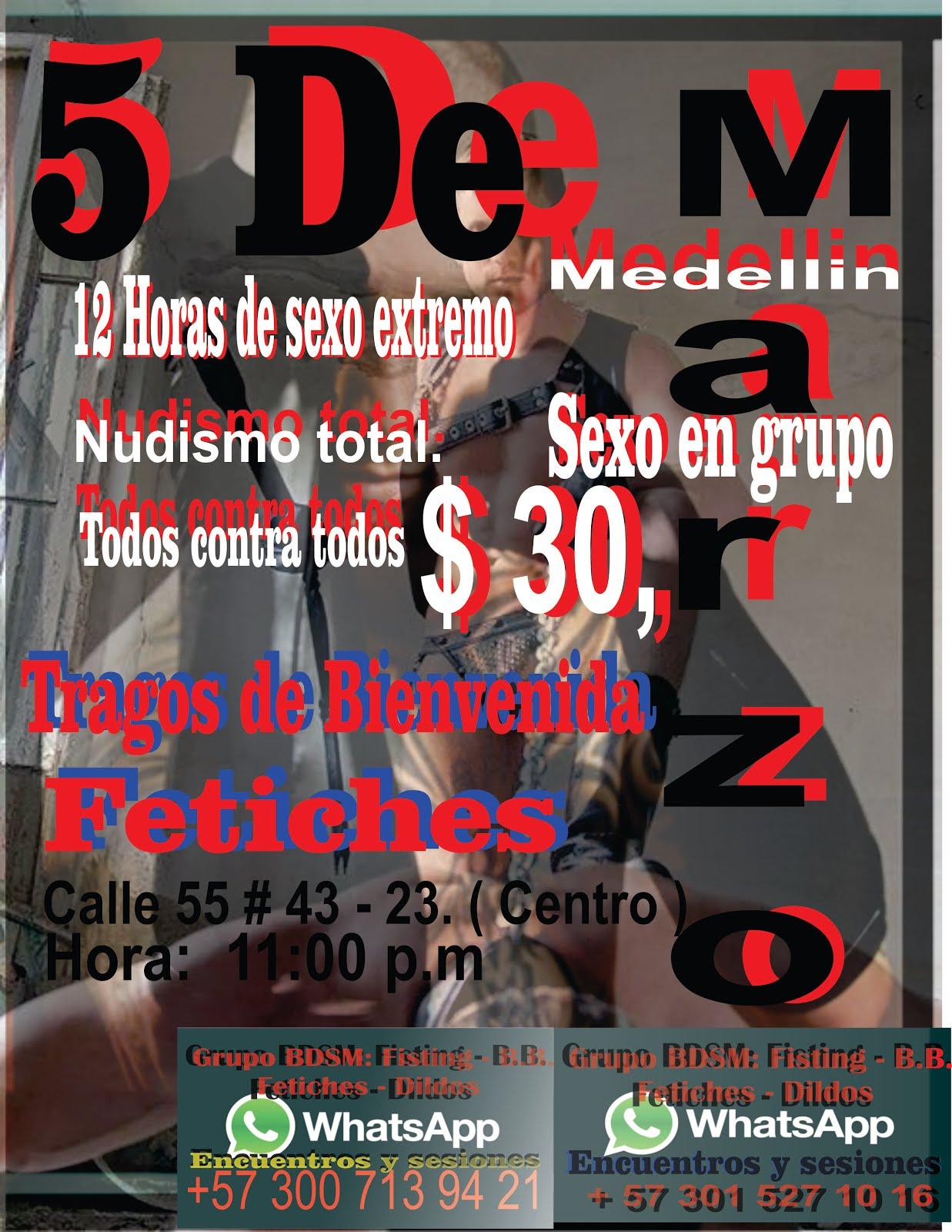 ENCUENTRO: TODOS CONTRA TODOS !!!!! SE VALE TODO.. Fetiches, Fisting, Bareback, Dildos, Orgias, Nud