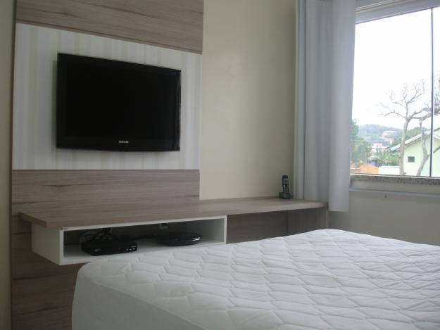 quarto de casal para apartamento pequeno