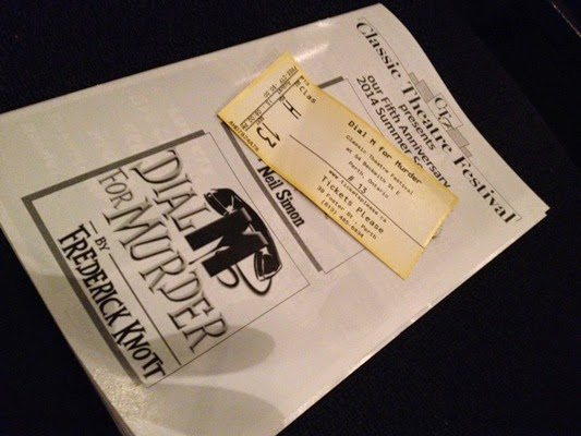 Dial M For Murder at The Classic Theatre Festival