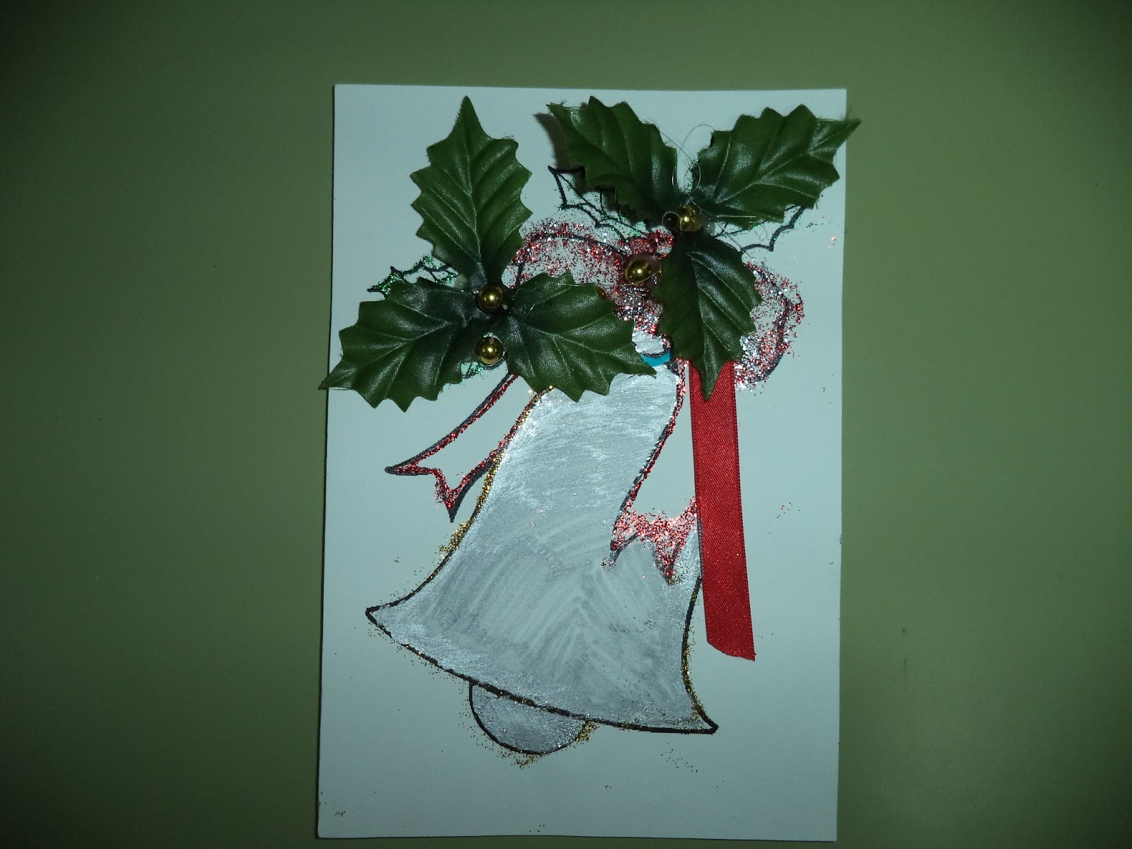 Peques da clase vermella e m is decoraci n de nadal - Adornos de nadal ...