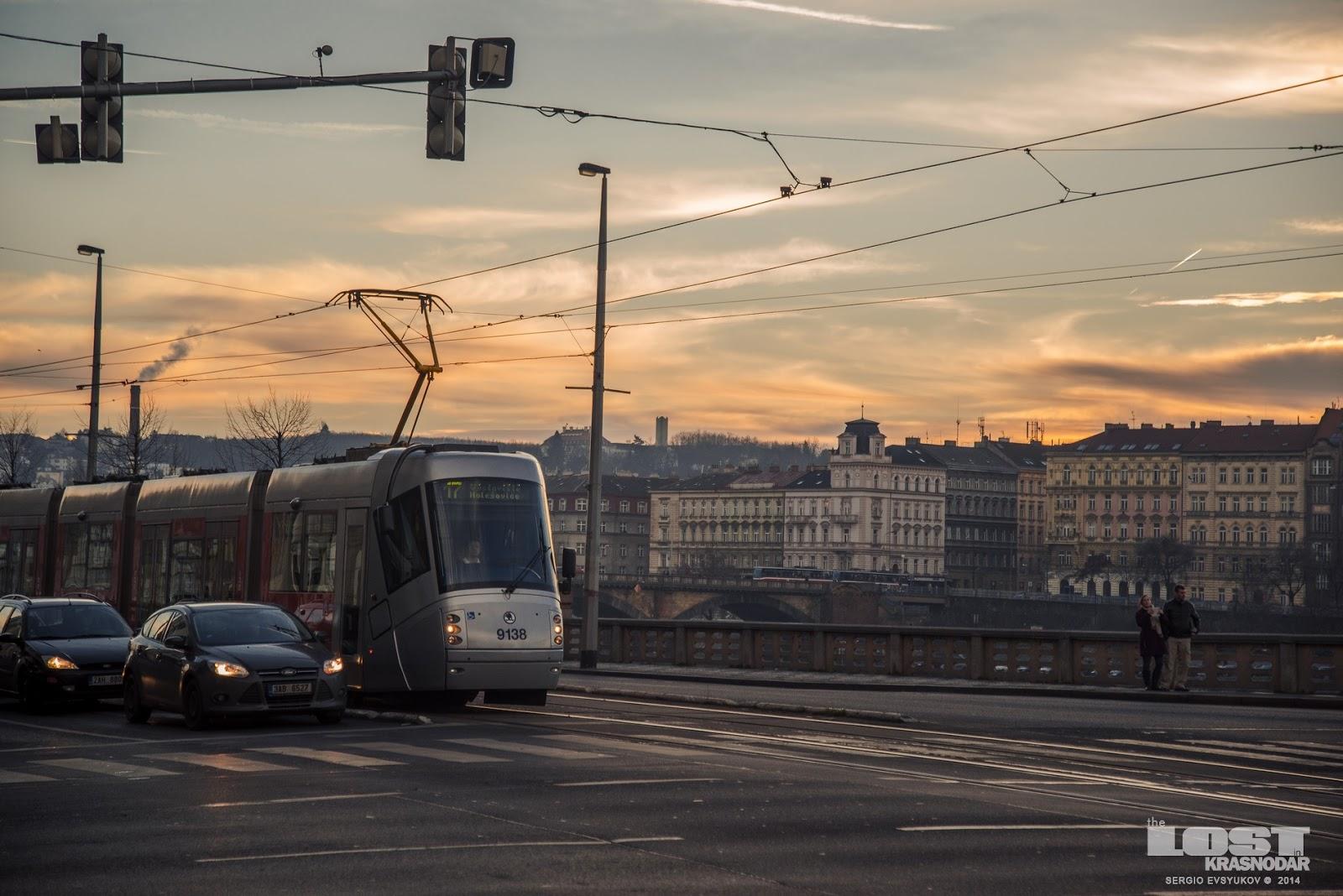 Общественный транспорт Чехии
