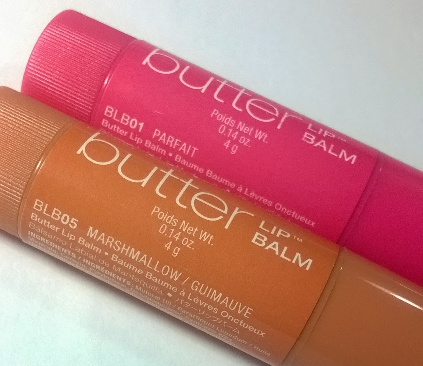 NYX Butter Lip Balm Swatches