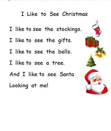 short christmas poems for kids