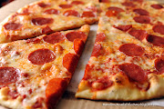 Today we have a thin crust Pepperoni Pizza for our random meal of the day.