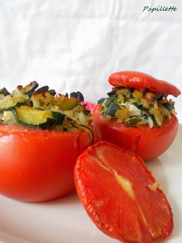 tomates farcies végé