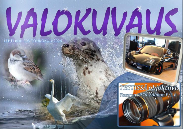 VALOKUVAUS-LEHTI 2014/05