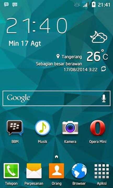 Install ROM Samsung Galaxy S5 di Lenovo A316i Terbaru | Super Mirip, Super Keren!