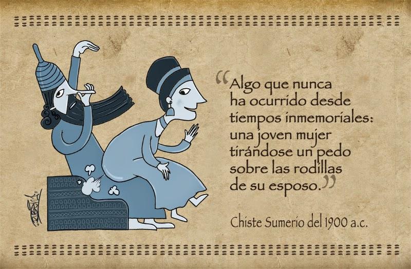 Humor en la antigüedad  Chiste_sumerio
