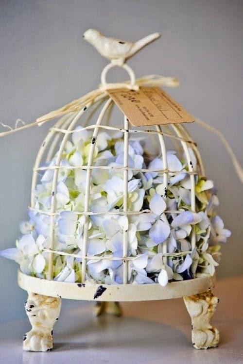 15 jaulas de p jaro inspiradoras para una decoraci n vintage for Decoracion con jaulas