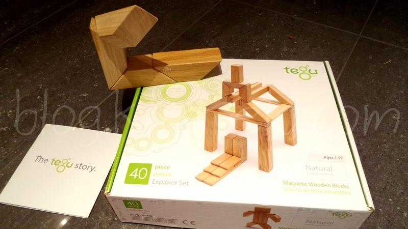 tegu blocs de construction magntiques en bois - Maison Moderne Playmobil Klerelo
