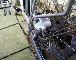 disk brakes lose power