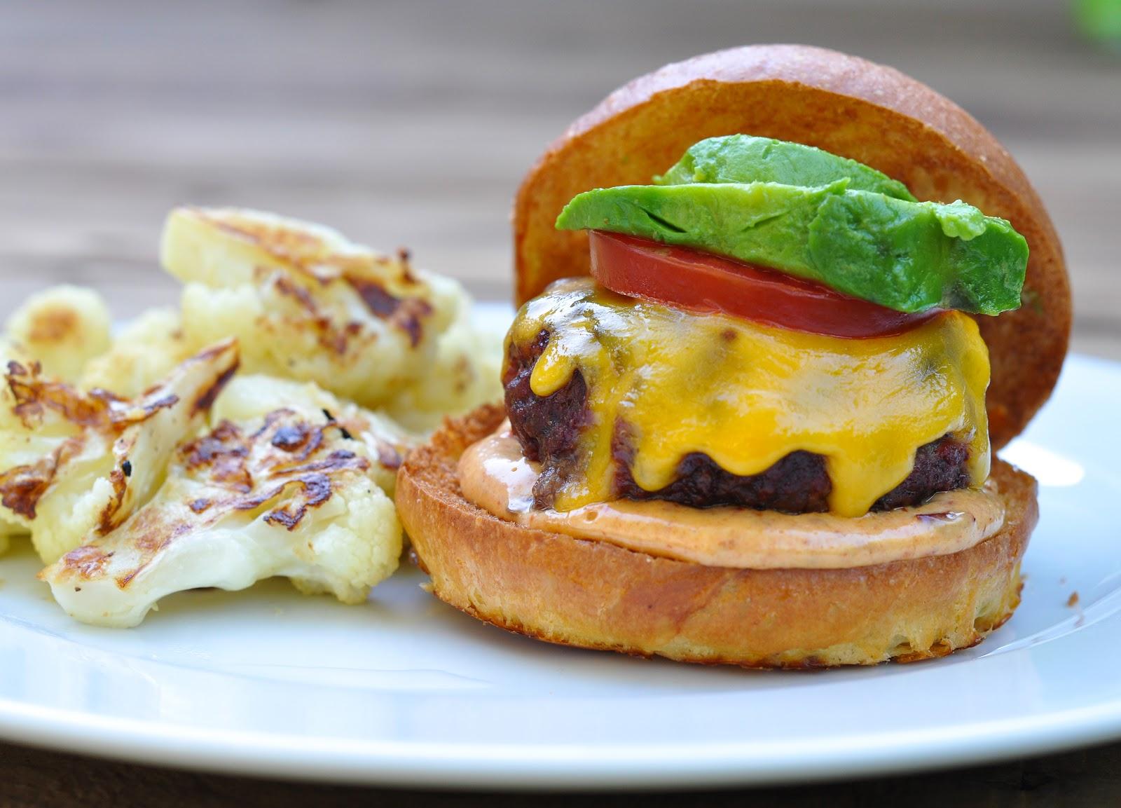 buffalo burgers with chipotle mayonnaise - Marin Mama Cooks