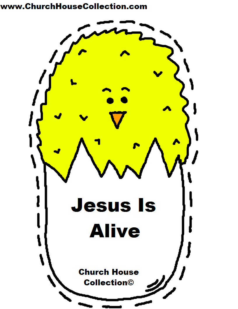 Church house collection blog march 2015 for Jesus is alive craft ideas