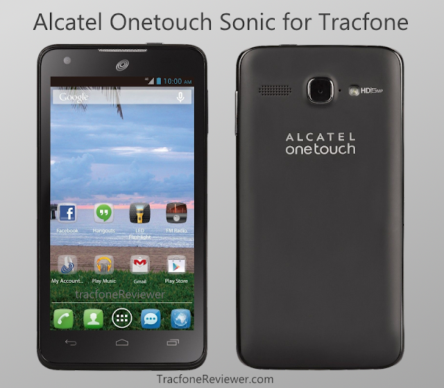 tracfone review alcatel sonic