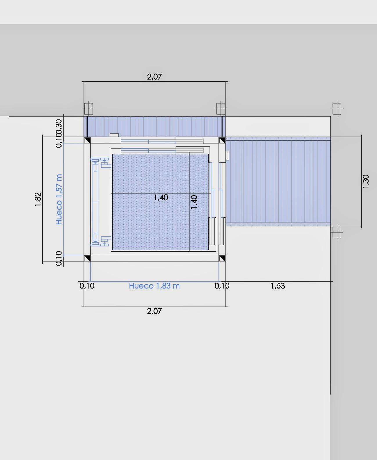 Ascensor Peque O Medidas Hydraulic Actuators