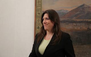 Στη Βαρκελώνη για να μιλήσει για το χρέος η Κωνσταντοπούλου