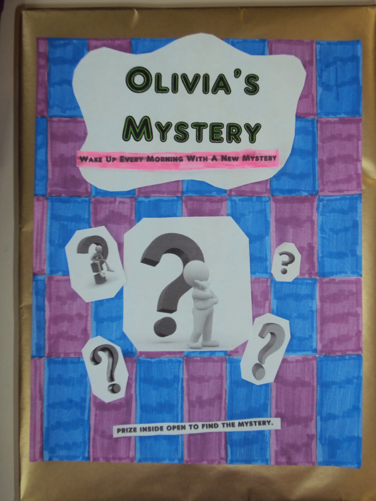 mystery shoe box book report Take your shoebox and put it on a flat surface take a piece of printer paper or construction paper(any kind of blank white paper) and make a shadow of the box.