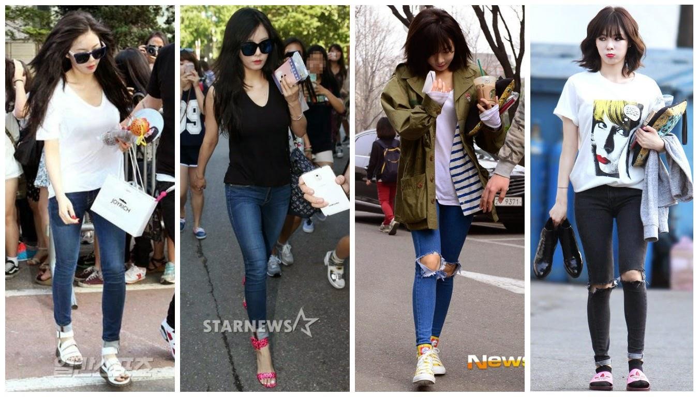 Hyuna in skinny jeans +