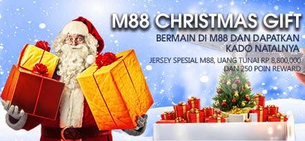 Menangkan Rp 8,800,000 di Hari Natal Bersama M88