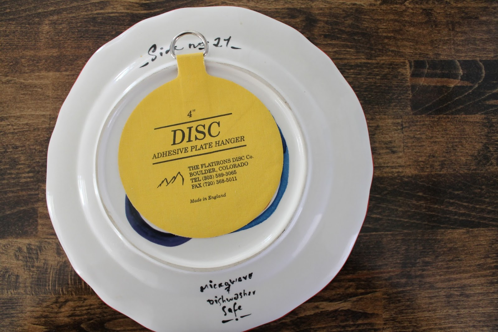 Wonderfully Made: Plate hanging made EASY!