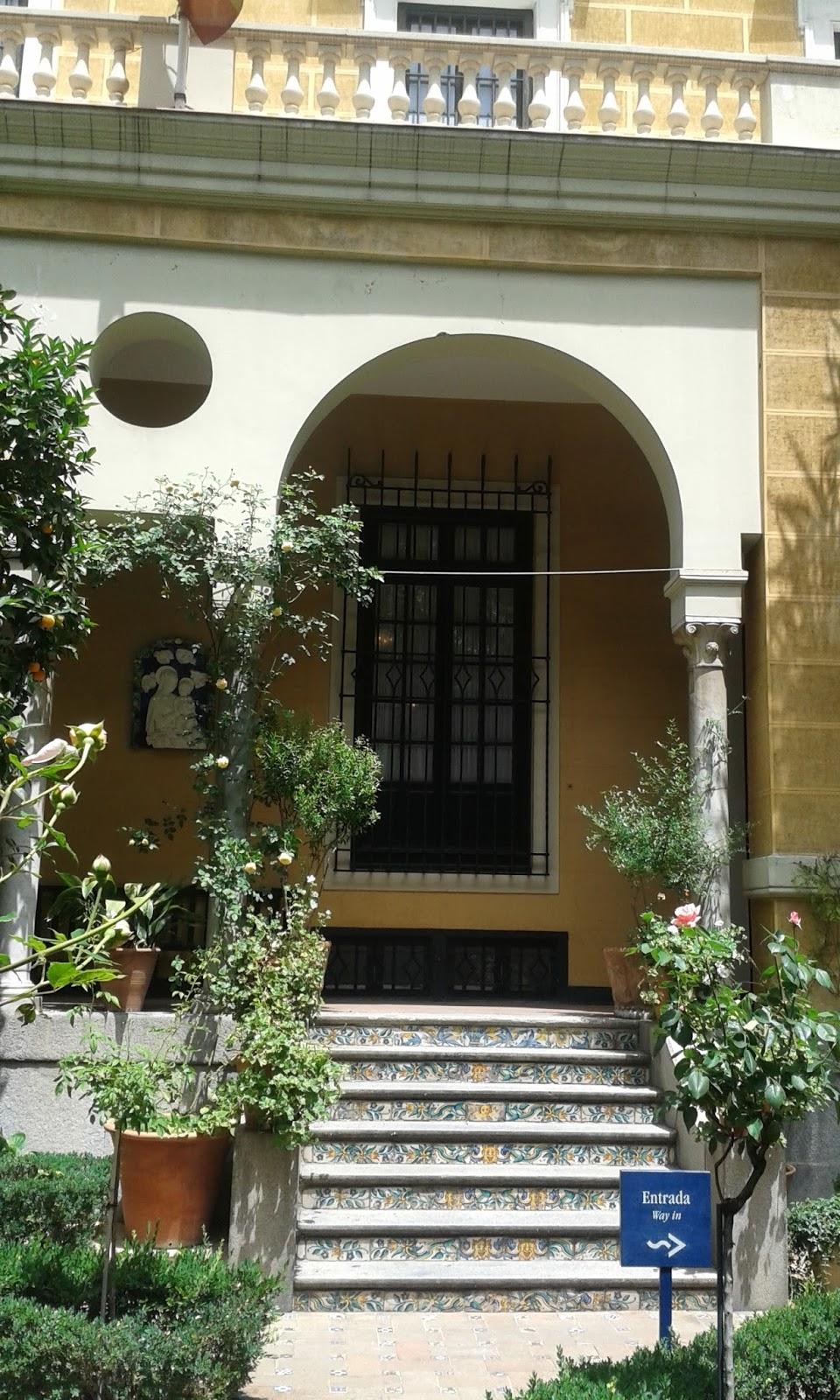 Madrid con encanto el jard n de la casa sorolla for Casa jardin madrid