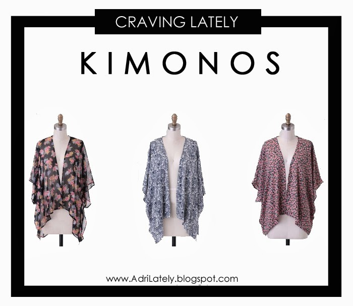 cute and affordable kimonos