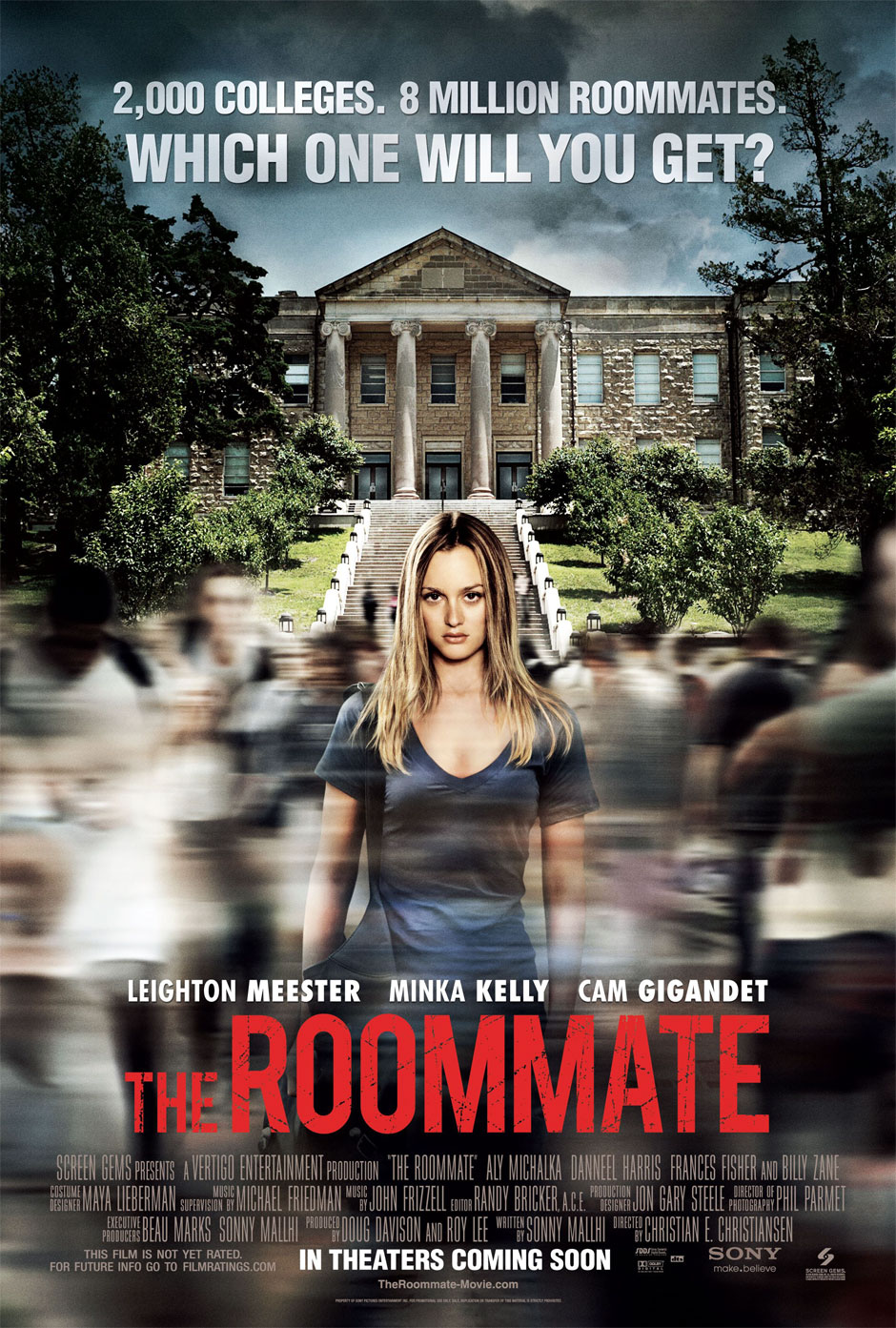 blueray hd mobile movies dubbed in hindi: the roommate 2011 in hindi
