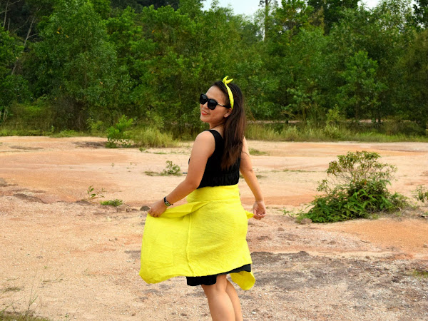 Outfit Diary : Yellow mellow cardigan