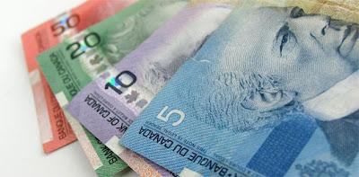 Como llevar dinero y cambio para dólar canadiense