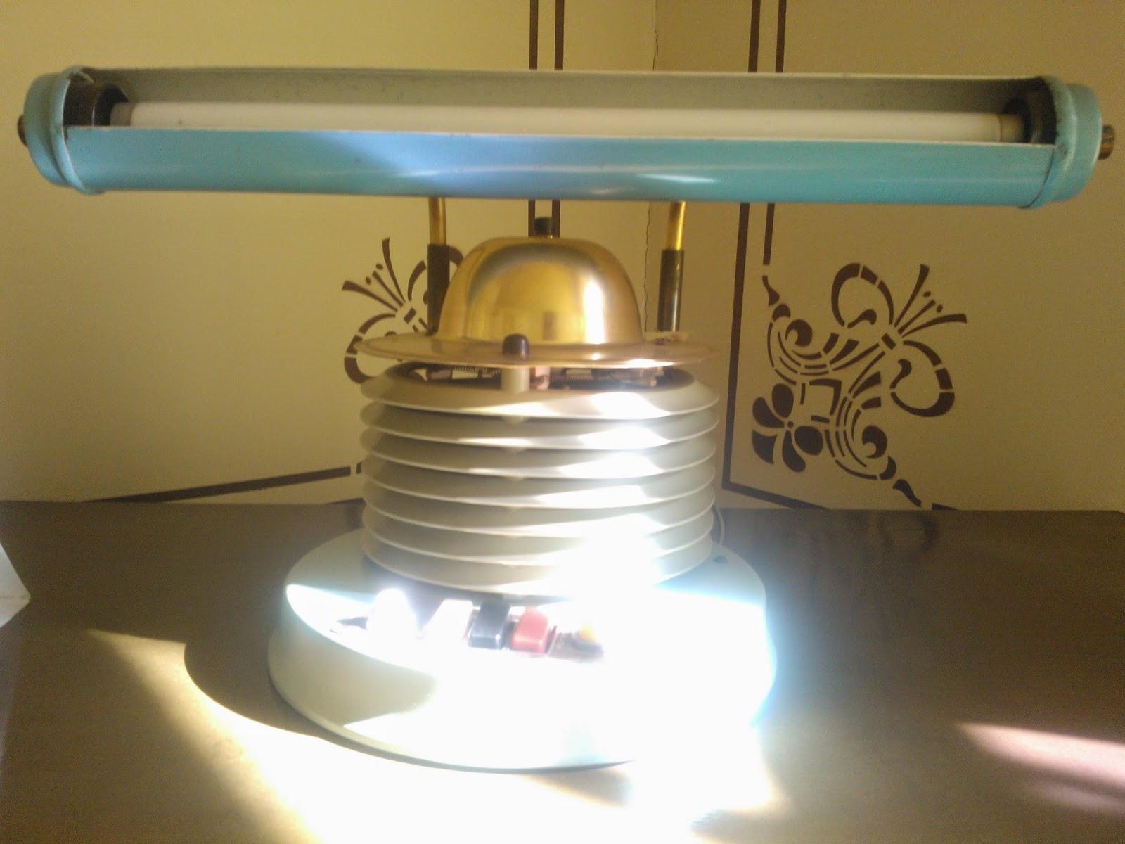 luminária dos anos 50 - Museu da Energia, Itu-SP