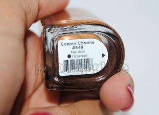 CND Cooper Chrome