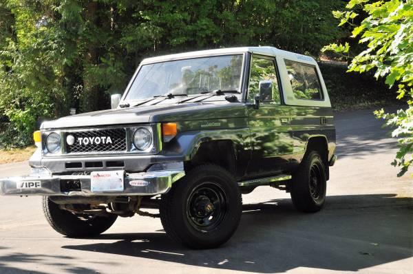 1988 Toyota Land Cruiser Bj74 Lx