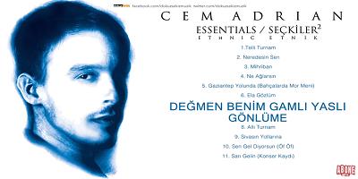 Cem Adrian Seçkiler 2 Albümü Şarkı Sözleri