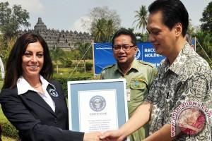 Candi Borobudur terima sertifikat Guinness World Records