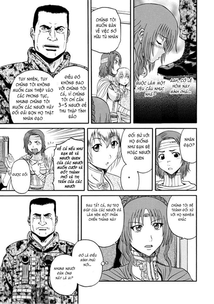 Gate – Jietai Kare no Chi nite, Kaku Tatakeri chap 13 Trang 7 - Mangak.info