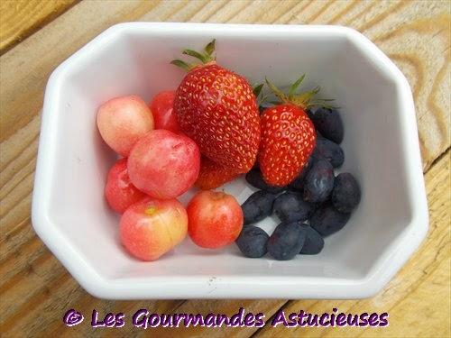 fraises, cerisiers, baies de mai